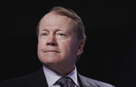 John Chambers, chairman and CEO of Cisco, takes part in a panel discussion discussing innovation for building social and economic value at the Clinton Global Initiative in New York, September 22, 2011. REUTERS/Lucas Jackson