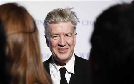 David Lynch arrives for the annual David Lynch Foundation benefit celebration in New York December 13, 2010. REUTERS/Lucas Jackson
