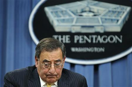 U.S. Defense Secretary Leon Panetta listens to questions during a news conference at the Pentagon in Washington, November 10, 2011. REUTERS/Jonathan Ernst