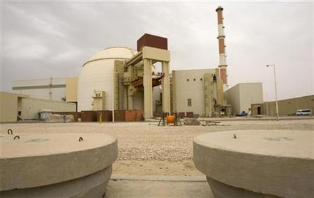 A view of the reactor at the nuclear power plant in Bushehr, 1200 km (746 miles) south of Tehran February 25, 2009. REUTERS/Caren Firouz