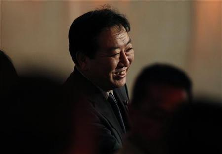 Japanese Prime Minister Yoshihiko Noda speaks during a reception hosted by the U.S.-Japan Council and APEC Host Committee in Honolulu, Hawaii November 11, 2011.  REUTERS/Yuriko Nakao