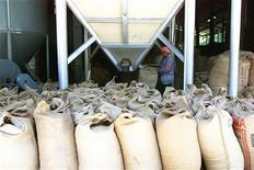 A file photo of coffee bags. Tanzania's arabica coffee prices rose at last week's auction helped by output shortages in Colombia, with supplies of the beans seen peaking, the regulator Tanzania Coffee Board (TCB) said on Monday.
