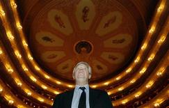 <p>La Scala General Manager and Artistic Director Stephane Lissner looks on inside the Bolshoi Theatre in Moscow November 12, 2011. REUTERS/Sergei Karpukhin</p>