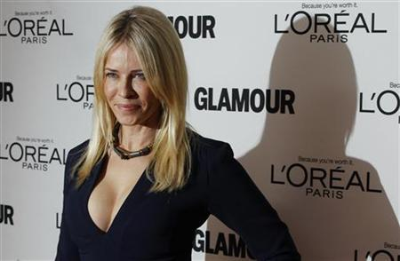Comedienne Chelsea Handler arrives to attend the 21st annual Glamour Magazine Women of the Year award ceremony in New York November 7, 2011. REUTERS/Lucas Jackson