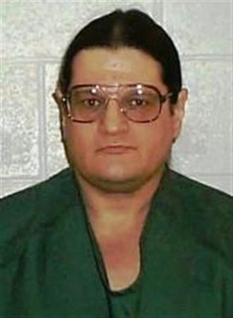 Paul Ezra Rhoades is seen in an undated prison photo. REUTERS/Idaho Department of Correction/Handout