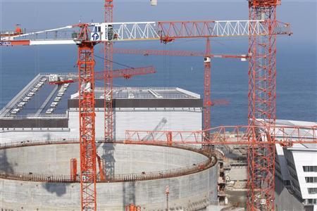General view of the construction site of the third-generation European Pressurised Water nuclear reactor (EPR) in Flamanville, north-western France, April 8, 2011. REUTERS/Benoit Tessier