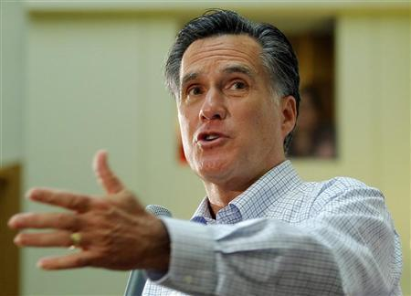 Republican presidential candidate and former Massachusetts Governor Mitt Romney speaks at the Devine Millimet-Manchester Chamber of Commerce Forum in Manchester, New Hampshire November 18, 2011.   REUTERS/Brian Snyder