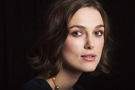 Actress Keira Knightley of the film ''A Dangerous Method'' poses for a portrait during the 36th Toronto International Film Festival (TIFF) in Toronto, September 11, 2011. REUTERS/Mark Blinch