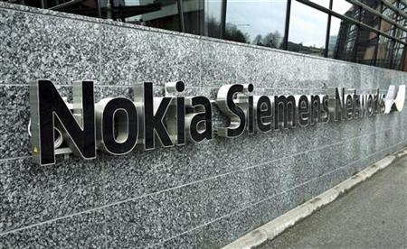 File picture shows telecommunications services company Nokia Siemens Networks offices in Tampere, April 6, 2008.   REUTERS/LEHTIKUVA/Timo Jaakonaho