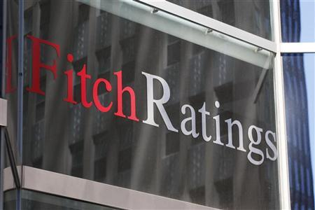 The Fitch Ratings building in New York, May 7, 2010. REUTERS/Jessica Rinaldi