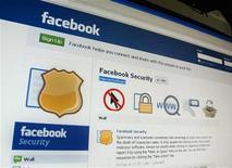 Страница сайта Facebook в Сингапуре, 11 мая 2011 года. Facebook, крупнейшая социальная сеть мира, готовится к первичному размещению на рынке в будущем году, сообщил Wall Street Journal, ссылаясь на источник. REUTERS/Tan Shung Sin