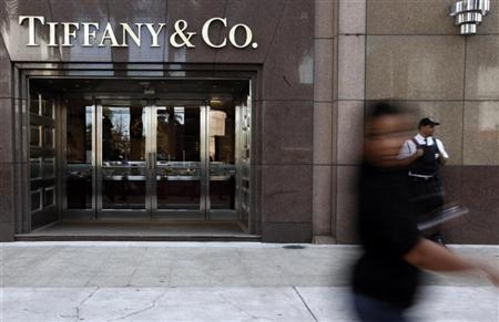 A woman walks past a Tiffany & Co. jewelry store at the Iguatemi mall in Sao Paulo July 29, 2011. REUTERS/Nacho Doce