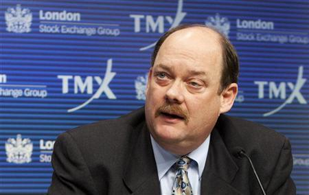 TMX Group CEO Tom Kloet speaks during a news conference in Toronto in this February 9, 2011 file photo. REUTERS/Mark Blinch