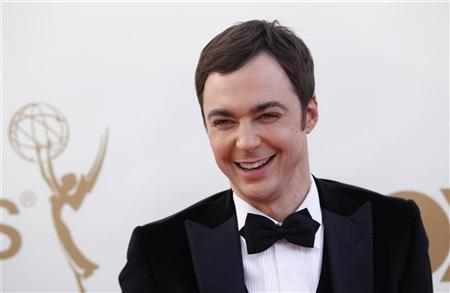 Actor Jim Parsons from television series ''Big Bang Theory'' arrives at the 63rd Primetime Emmy Awards in Los Angeles September 18, 2011.  REUTERS/Danny Moloshok
