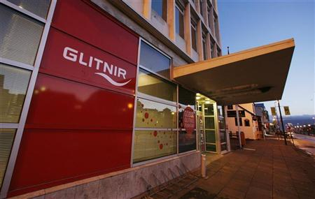 A branch of Iceland's Glitnir Bank is seen in Reykjavik October 8, 2008.  REUTERS/Bob Strong