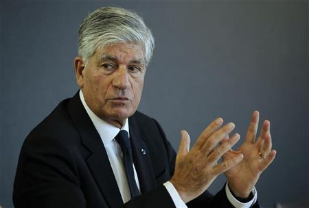 French advertising group Publicis Chief executive Maurice Levy speaks during the Reuters Global Media Summit in Paris November 30, 2011.  REUTERS/Mal Langsdon