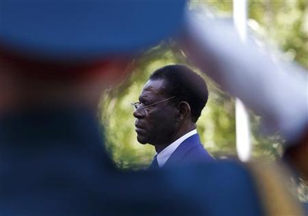 Equatorial Guinea's President Obiang Nguema Mbasogo in Moscow, June 7, 2011. REUTERS/Denis Sinyakov