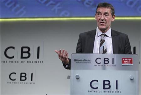Goldman Sachs Asset Management chairman Jim O'Neill addresses the Confederation of British Industry (CBI) annual conference at Grosvenor House in London November 21, 2011. REUTERS/Olivia Harris/Files