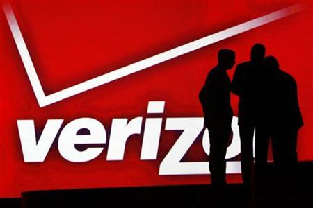 The Verizon logo in a file photo.  REUTERS/Rick Wilking