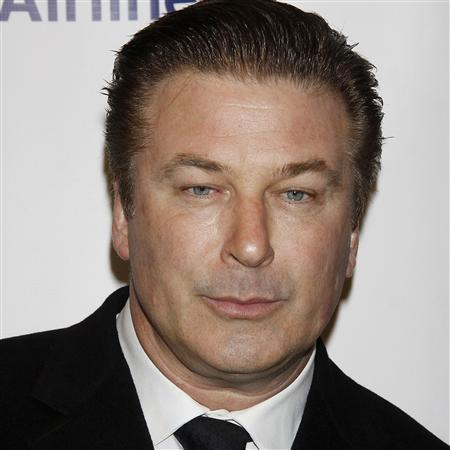 Alec Baldwin is pictured in this March 14, 2011 file photo at Roundabout Theatre Company's 2011 Spring Gala in New York City. REUTERS/Joseph Marzullo/Wenn.com/Handout