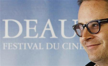 Danish Director Nicolas Winding Refn poses at a photocall for his film ''Drive'' during the 37th American Film Festival in  Deauville, September 3, 2011.  REUTERS/Regis Duvignau