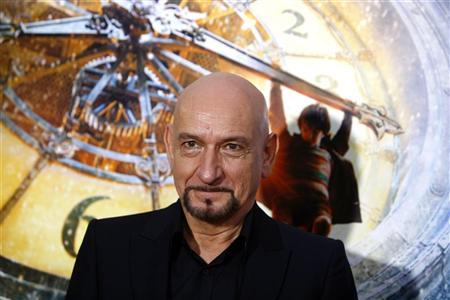 Actor Ben Kingsley attends the premiere of ''Hugo'' in New York November 21, 2011. REUTERS/Eric Thayer