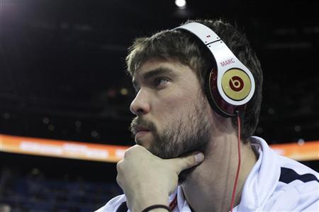 Marc Gasol of Spain watches FIBA EuroBasket 2011 classification for 4th to 8th place basketball game between Serbia and Greece in Kaunas September 16, 2011. REUTERS/Ints Kalnins
