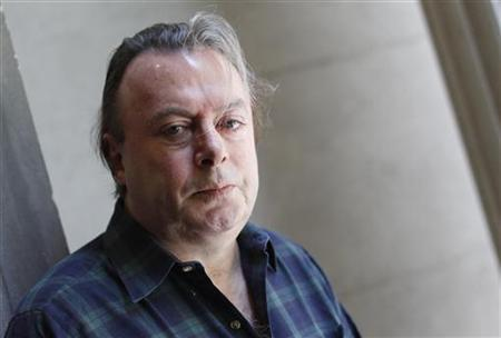 Christopher Hitchens, journalist and author of his new memoir ''Hitch 22,'' poses for a portrait outside his hotel in New York, June 7, 2010. REUTERS/Shannon Stapleton
