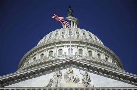The U.S. Capitol dome in Washington, August 2, 2011. REUTERS/Jonathan Ernst/Files