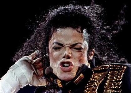 Pop superstar Michael Jackson performs in the second day of his ''Dangerous World Tour'' in Bangkok on August 27 after two days of postponement because of dehydration. REUTERS