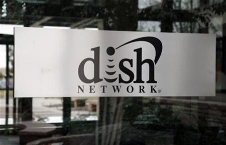 The sign in the lobby of the corporate headquarters of Dish Network is seen in the Denver suburb of Englewood, Colorado April 6, 2011. REUTERS/Rick Wilking/Files