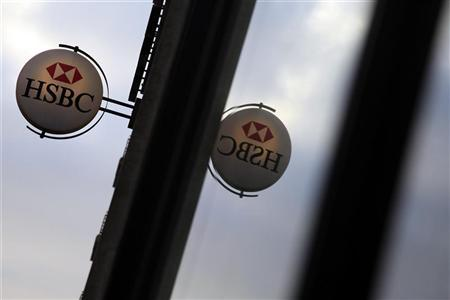 A branch of HSBC bank is seen, in central London March 6, 2011.    REUTERS/Stefan Wermuth