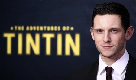 Actor Jamie Bell arrives for the premiere of the movie ''The Adventures of Tintin'' in New York December 11, 2011. The movie will open in the U.S. on December 21. REUTERS/Carlo Allegri