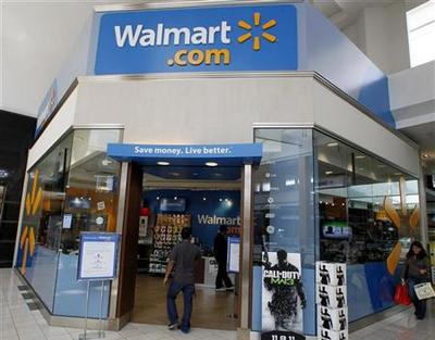Wal-Mart throws weight behind online entrepreneurs
