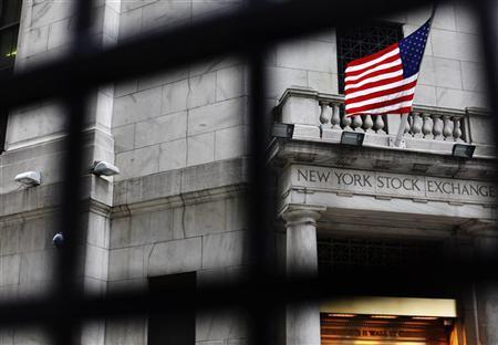 The outside of the New York Stock Exchange is seen in New York May 13, 2011.  REUTERS/Shannon Stapleton