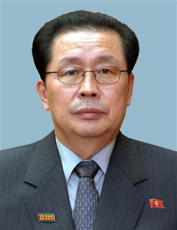 Jang Song-thaek, brother-in-law of former leader Kim Jong-il and uncle of new leader Kim Jong-un, is seen in this undated picture released by North Korea's official news agency KCNA on June 9, 2010.  REUTERS/KCNA