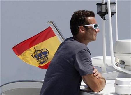 Inaki Urdangarin, the son-in-law of Spain's King Juan Carlos and Queen Sofia, looks on during the fifth day of the 30th Copa del Rey yacht race in Palma de Mallorca August 6, 2011. REUTERS/Enrique Calvo/Files