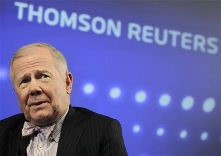 Jim Rogers, Chairman of Rogers Holdings, speaks at the Reuters Investment Outlook Summit in New York December 7, 2010. REUTERS/Brendan McDermid/Files