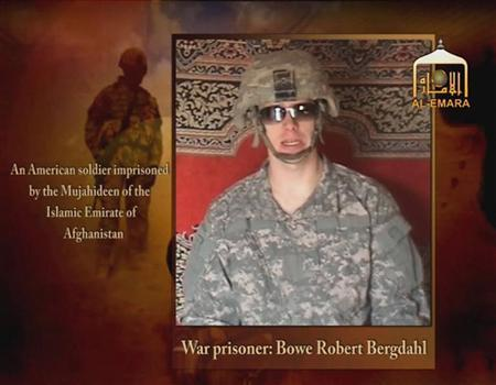 Undated image from video footage taken from a Taliban-affiliated website shows a man who says he is Private First Class Bowe R. Bergdahl, a U.S. soldier captured by the Taliban in southeastern Afghanistan in late June. REUTERS via Reuters TV