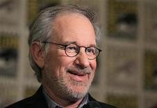 """Steven Spielberg promove o filme """"As Aventuras de Tintim"""" no Comic Con, em San Diego, na Califórnia. 22/07/2011 REUTERS/Mike Blake/Arquivo"""