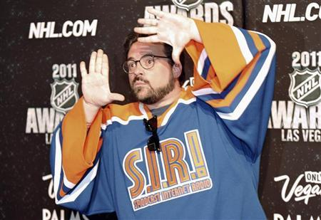 Director Kevin Smith arrives at the 2011 NHL Awards in Las Vegas, Nevada, June 22, 2011. REUTERS/Mark Damon