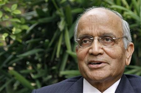 Chairman of Maruti Suzuki India R.C. Bhargava speaks during an interview for the Reuters India Investment Summit at his residence in Noida on the outskirts of New Delhi November 21, 2011. REUTERS/B Mathur/Files