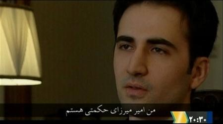 Iranian-American Amir Mirza Hekmati, who has been sentenced to death by Iran's Revolutionary Court on the charge of spying for the CIA,  speaks in this undated still image taken from video in an undisclosed location made available to Reuters TV on January 9, 2012 REUTERS/via Reuters TV
