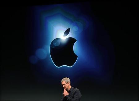 Apple CEO Tim Cook speaks at Apple headquarters in Cupertino, California October 4, 2011. REUTERS/Robert Galbraith