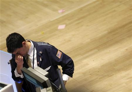 A trader works on the floor of the New York Stock Exchange, March 10, 2011. REUTERS/Brendan McDermid