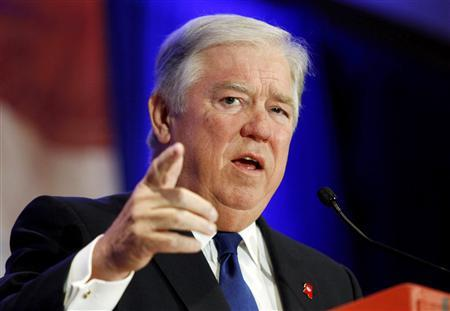 Mississippi Governor Haley Barbour speaks at the Faith & Freedom Conference and Strategy Briefing in Washington in this file photo taken June 3, 2011.   REUTERS/Molly Riley/Files