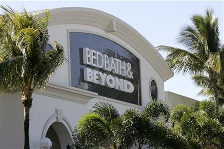 A view of a Bed Bath & Beyond Inc franchise in Boca Raton, Florida January 6, 2010. The home furnishing retailer is expected to report third-quarter results on Wednesday. REUTERS/Joe Skipper