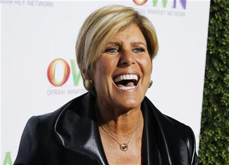 Personal finance expert Suze Orman poses at the OWN: Oprah Winfrey Network launch cocktail reception for the Television Critics Association Winter press tour in Pasadena, California January 6, 2011. REUTERS/Fred Prouser
