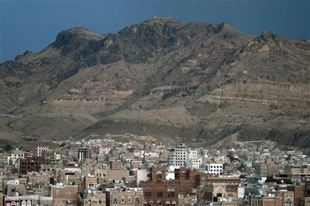 A view of the old Sanaa city in Sanaa January 14, 2012. REUTERS/Mohamed al-Sayaghi