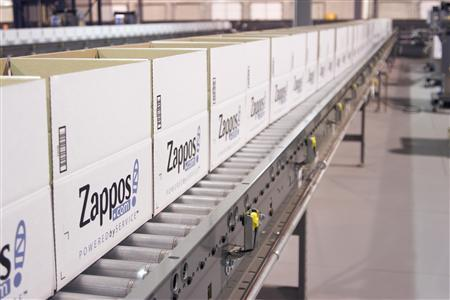 A Kentucky warehouse for Zappos.com is seen in an undated handout photo.  REUTERS/Zappos.com/Handout